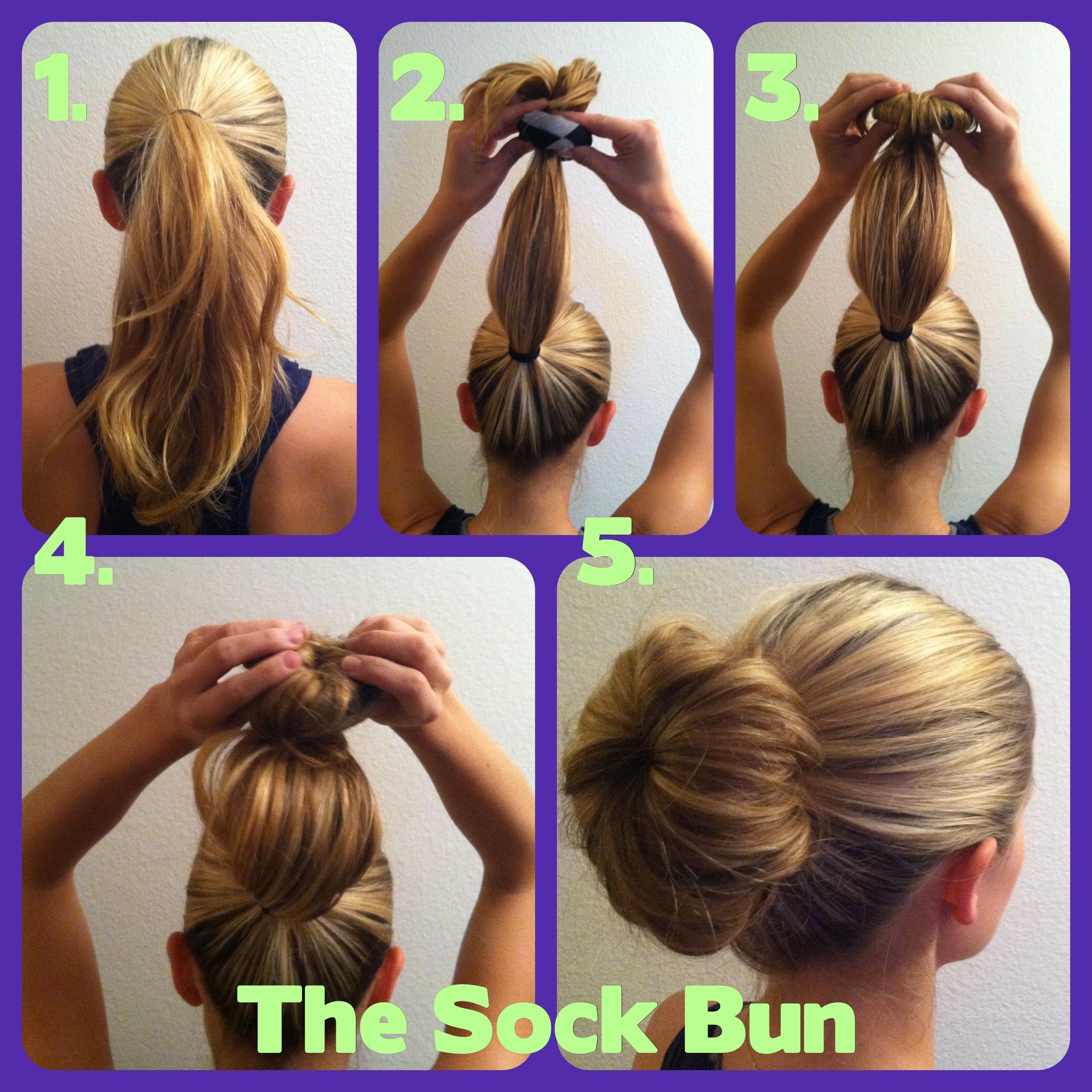 How To Get That Classy Fabulous Sock Bun Hairdo Rachaellee