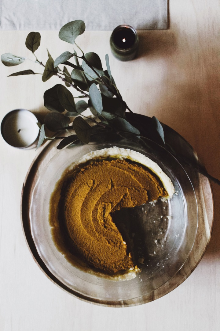 Vegan + Gluten-Free Pumpkin Pie//