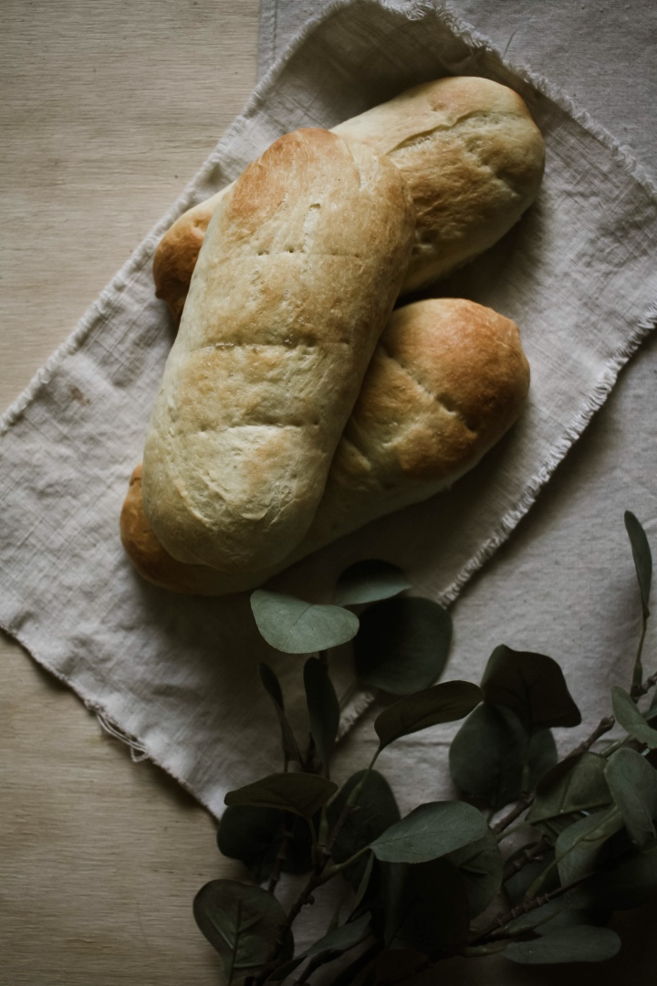 French Bread with Maple Glaze (vegan and GF optional)