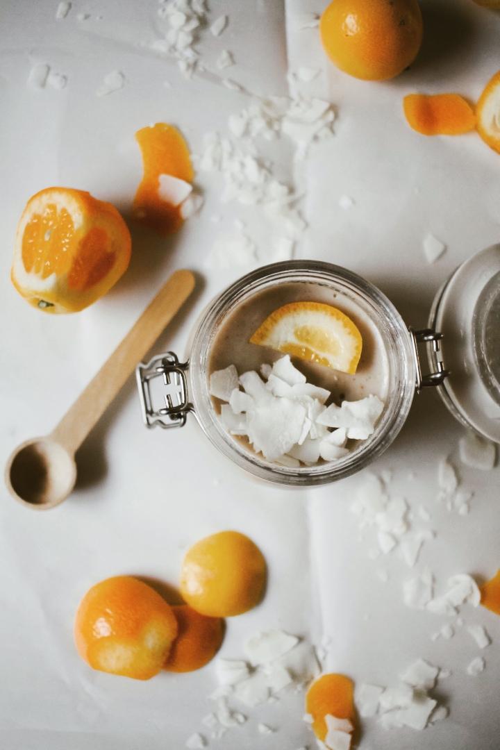Kumquat Malabi (vegan)//